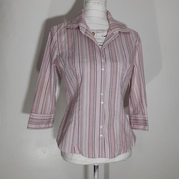 Mexx Polka Dotted Quarter Sleeve Size M/S shirt